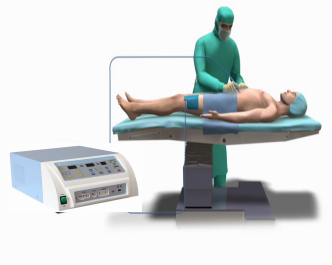 high-frequency electrocautery