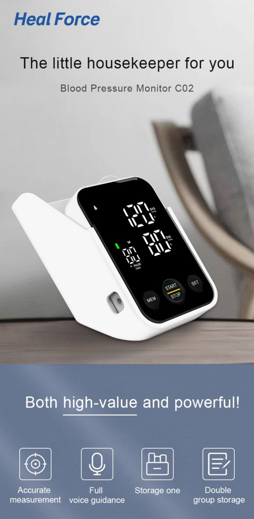 Heal Force C02L Electronic Blood Pressure Meter