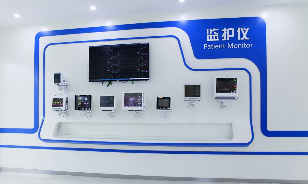 Heal Force Patient Monitoring Section